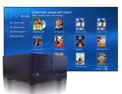 Cargador Niveus de 200 DVDs