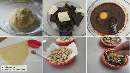 Tartaletas de Nutella