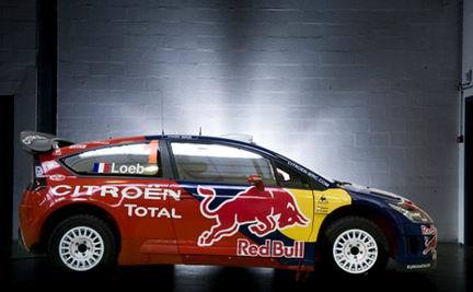 Citroën C4 WRC Red Bull