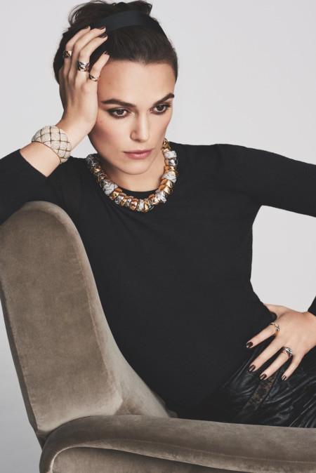 Keira Knightley impresionante en la primera imagen como nuevo rostro de la joyería de Chanel