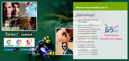 Movistar promociona su pack Premium Extra: 15,50 euros al mes durante tres meses para nuevos clientes
