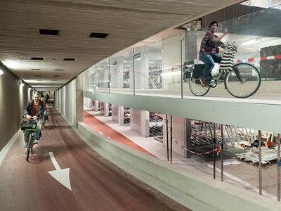 En este futuro aparcamiento de bicicletas cabrá más de 12.000