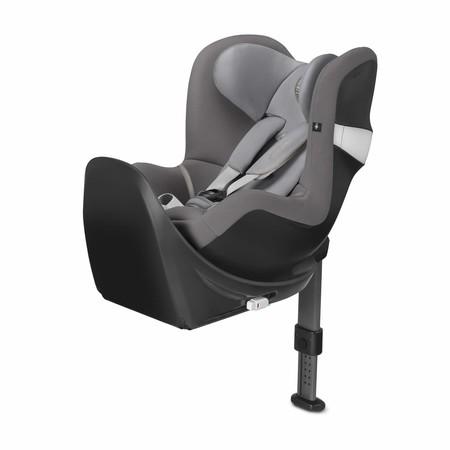 Por 349,95 euros tenemos la  silla de coche Cybex Sirona M2 grupo 0+/1 Isofix en gris claro en Amazon