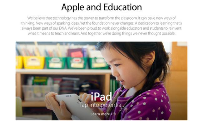 Apple en la Educación