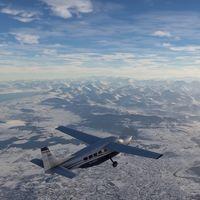 La belleza y el realismo de los paisajes nevados de Flight Simulator en su nuevo tráiler