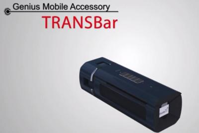 TRANSBar, altavoz portátil plegable Bluetooth de Genius