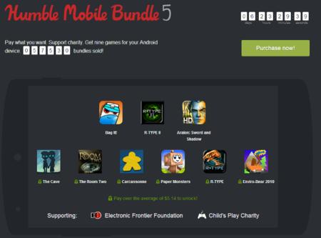 Tres nuevos juegos se añaden al quinto Humble Mobile Bundle