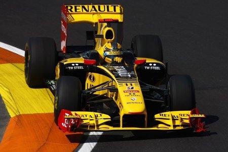 Robert Kubica sorprende con segunda posición en los libres 3 del GP de Europa 2010