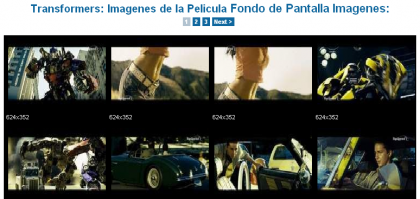'Transformers', más imágenes de la película