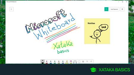 Microsoft Whiteboard, la pizarra blanca de Windows 10, cómo descargarla y cómo se usa