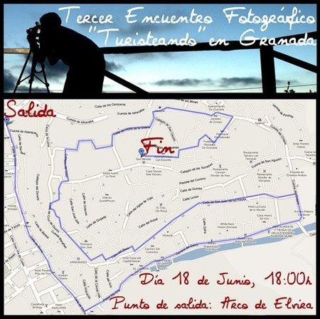 """3º Encuentro Fotográfico """"Turisteando"""", en Granada"""