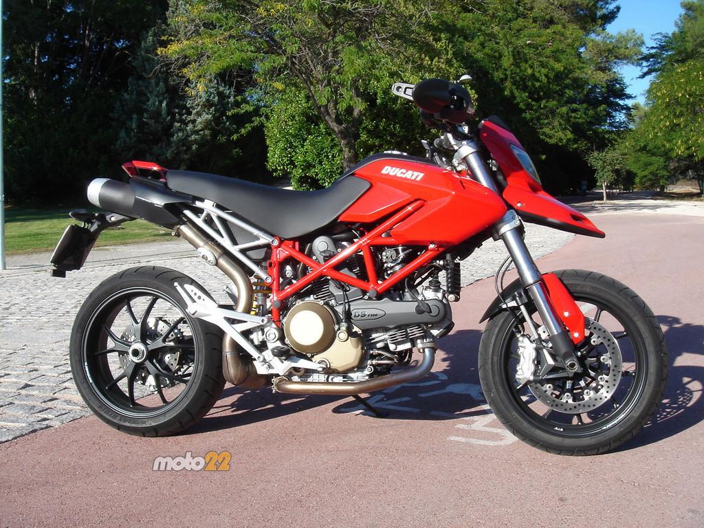 Prueba Ducati Hypermotard