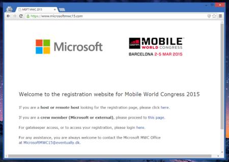 Microsoft confirma su participación en el MWC de 2015, ¿qué sorpresas nos traerá?