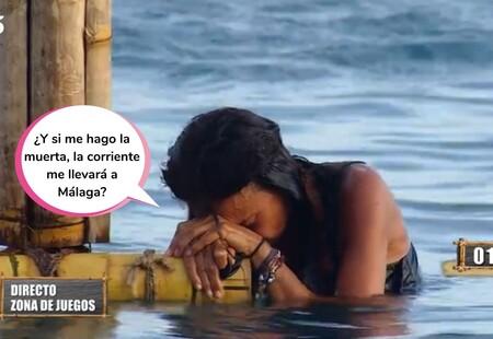 Olga Moreno tiene que ser atendida en directo por los médicos tras realizar la prueba más mítica de 'Supervivientes'