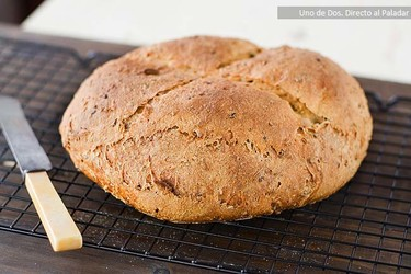 Pan de semillas. Receta