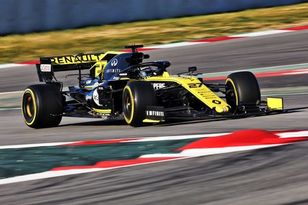 Hulkenberg Renault Test 2019