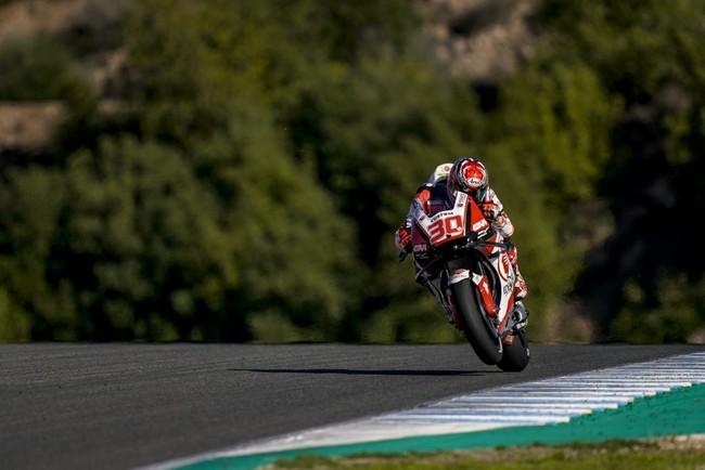 Takaaki Nakagami sorprende y se va de Jerez como el piloto más rápido de MotoGP