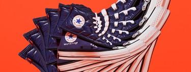 Llegan las Converse que se transforman: el modelo Mutation de Converse x P.A.M. es convertible