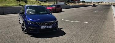 Manejamos el Peugeot 308 GT en pista y te revelamos una de sus dos personalidades