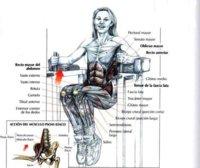 El mejor ejercicio de abdominales de 2009: máquina vertical