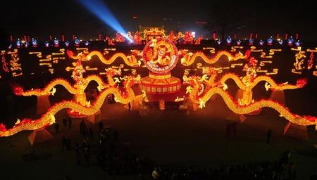 El nuevo año lunar chino, vemos el año del dragón en imágenes