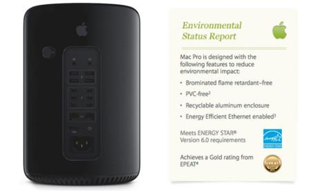 El nuevo Mac Pro es hasta un 68% más eficiente energéticamente que la generación anterior