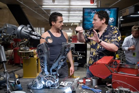 Robert Downey Jr Jon Favreau Iron Man