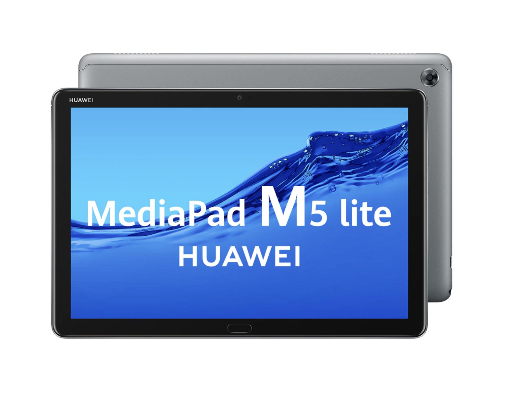 "Tablet Huawei MediaPad M5 Lite 25,58 cm (10,1"") 32 GB Wi-Fi Gris"