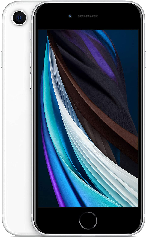Apple iPhone SE (256 GB) - en blanco (incluye Earpods, adaptador de corriente)