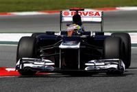 Victoria de Pastor Maldonado en el Gran Premio de España