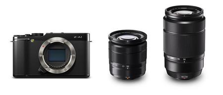 Fujifilm X-A1 black con 16-50 y 50-230 mm