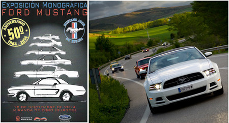 Exposición 50 Aniversario Ford Mustang: 12 de septiembre en Miranda de Ebro