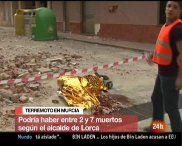 Dos terremotos azotan Murcia... ¿se cumple la profecía?