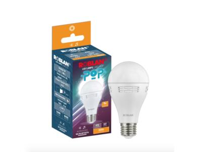 Esta lámpara LED incluye altavoces para que puedas escuchar música en cualquier parte de la casa