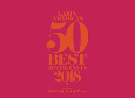 Los Latin America's 50 Best Restaurants 2018 se anunciarán el próximo 30 de octubre