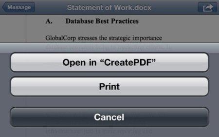 CreatePDF, para editar y crear archivos PDF en iOS de la mano de Adobe