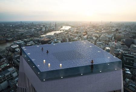Esta es la primera piscina infinita de 360 º del mundo y estará en Londres