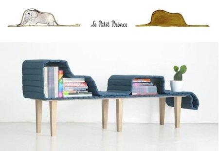 Muebles flexibles de almacenaje inspirados en 'El Principito'