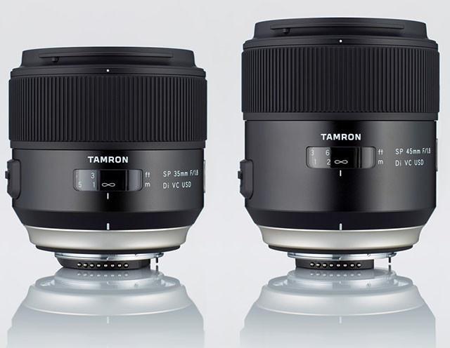 Tamron renueva su línea SP con un 35mm y un 45mm ultraluminosos