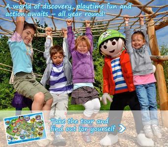 Conoce el parque temático que recrea los mundos de Playmobil