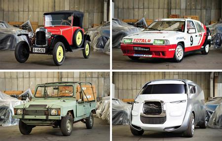 Coleccionistas y fans de las rarezas, Citroën saca a subasta 65 coches de su colección
