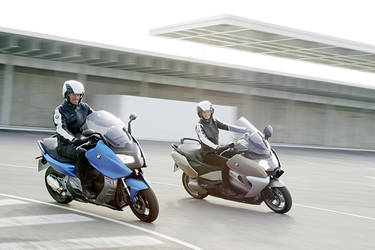 Foto de BMW C 650 GT y BMW C 600 Sport, acción (37/83)
