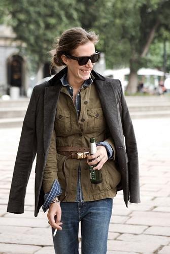 doble chaqueta sahariana