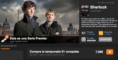 Filmin estrenará series inéditas de la BBC y ofrecerá 'Sherlock' o 'Luther' en streaming