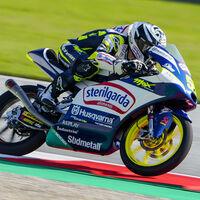 Romano Fenati le da a Husqvarna su primera pole position en Moto3 y Pedro Acosta saldrá séptimo en Austria