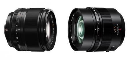 Fujifilm 56 mm f/1.2 y Panasonic Leica 42,5 mm f/1.2: los objetivos del momento