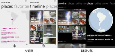 Lumia Storyteller se convierte en el reemplazo perfecto de la aplicación de Fotos gracias a su última actualización