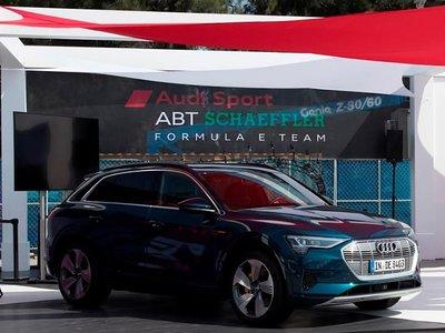 Audi e-tron se deja ver ante miles de espectadores mexicanos