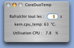 Core duo temp, a medir la temperatura de tu MacBook Pro