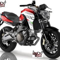Foto 1 de 2 de la galería aprilia-shiver-y-dorsoduro-1200 en Motorpasion Moto